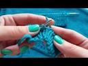 Вывязывание петель для пуговиц