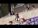 180812 ღ Lovelyz ღ Dusan Bears vs Lotte Giants Baseball Game
