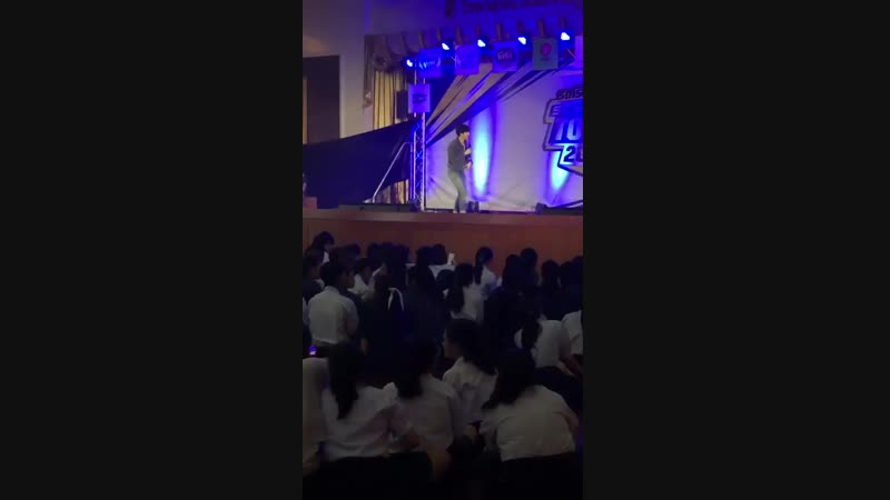 Арм и Фиат поют на Рэйнджерах