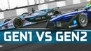 Gen1 vs Gen2 Formula E Battle - Drag Race, 0-100, 0-150-0 km/h Challenge