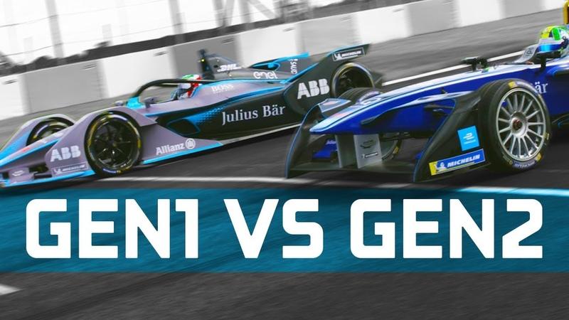 Gen1 vs Gen2 Formula E Battle - Drag Race, 0-100, 0-150-0 km/h Challenge