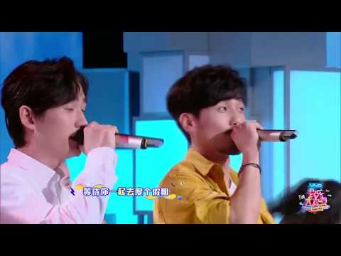 Bai Yu.Zhu Yilong.Happy Camp.2.Original Song.Dixing Hits Haixing