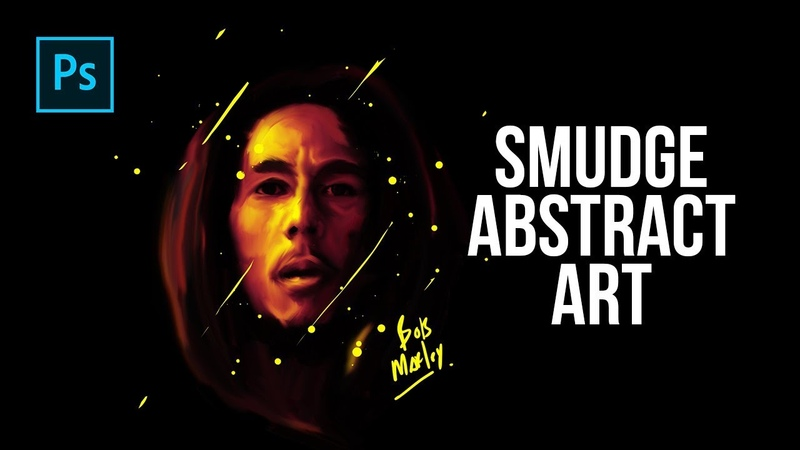 How to Create Smudge Abstract Art in Photoshop - Photoshop Tutorials