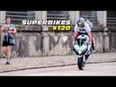 SUPERBIKES 120 RL de SRAD, S1000RR, HORNET, XJ6 E MOTOS ESPORTIVAS