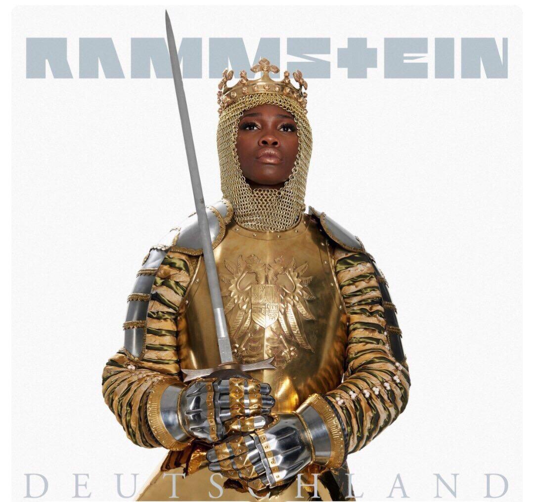 Обложка сингла RAMMSTEIN