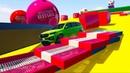 Машинки Супергерои Мультик про Машинки Учим Цвета для Детей
