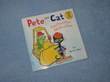Pete The Cat ~ Construction Destruction Children's Read Aloud Story Book For Kids By James Dean