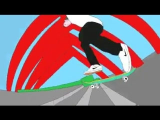 Shane O'neill Nollie Backside Flip Late Shove animation