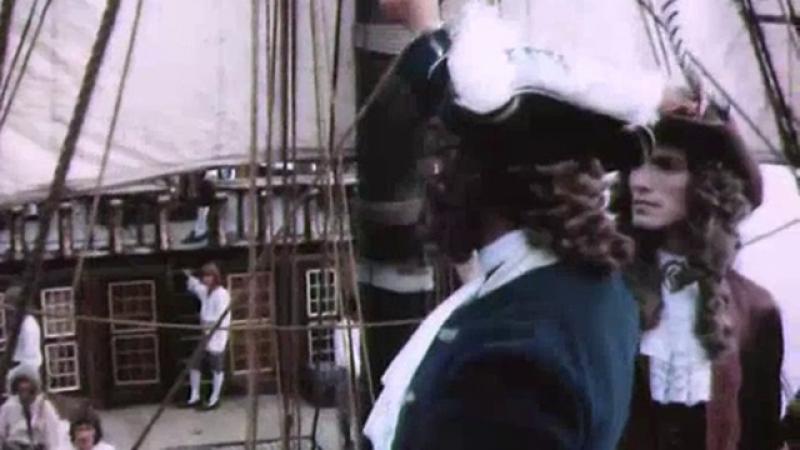 Абордажный бой между кораблём Лавасера и британским судном