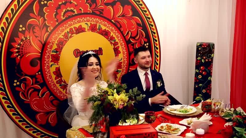 Промо ролик: Свадьба Анюты и Сергея в русском стиле от Светланы Петровой.