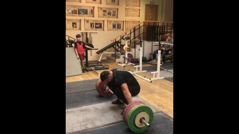 Берестов Дмитрий Рывок 180 кг