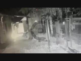 Видео момента поджога храма на востоке Москвы