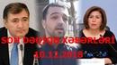 SON DƏQİQƏ XƏBƏRLƏRİ 10 11 2018 GÜNÜN SON XƏBƏRLƏRİ