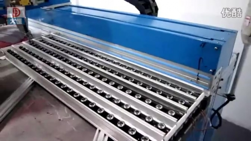 Glue dispensing machine for led