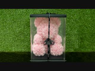 Мишка из роз от colombiana