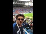 Patrick Bruel_Match France Belgique a Saint-Petersbourg_10072018