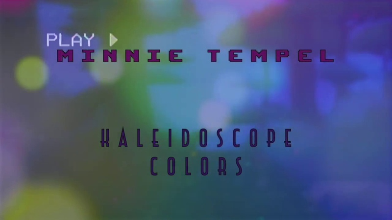 M i n n i e T e m p e l - Kaleidoscope Painting   retro wave /synthwave/ dreampop / psychedelia