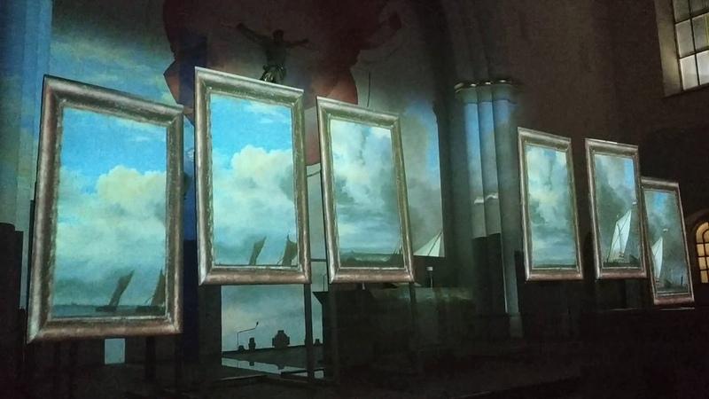 Орган и Живые полотна - Гендель/Живопись барокко/Кирха/Одесса 25.11.18