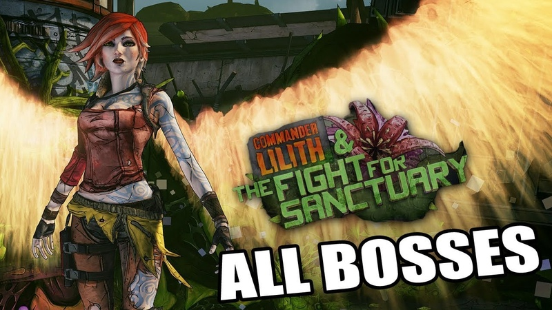 Borderlands 2: Fight For Sanctuary DLC - All Bosses (With Cutscenes) HD 1080p60 PC