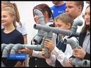 Профориентационное занятие для школьников провели кемеровские слесари