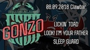 GONZO Lickin' Toad Look I'm Your Father Sleep Guard Clawbar 08 09 18