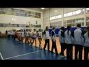 Открытие соревнований по женскому волейболу