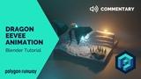 Dragon EEVEE Animation - Blender 2.8 Lowpoly Tutorial