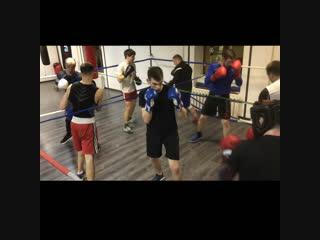 Крайние спарринги в КСК44-АТЛАНТ(Костромской спортивный клуб бокса АТЛАНТ)