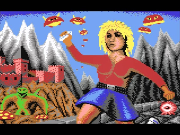 The Great Giana Sisters (C64) Music- Castle
