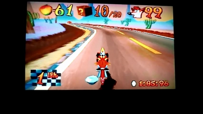Crash Bandicoot 3Warped (NTSC-J) Orange Asphalt.Time Trial. 11466 and other crazy things)