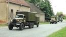 Militärfahrzeugtreffen 2014 Ausfahrt Garnisonschau Jüterbog ЗИЛ157 Tatra 813 Tatra 148 Zil 131 NVA