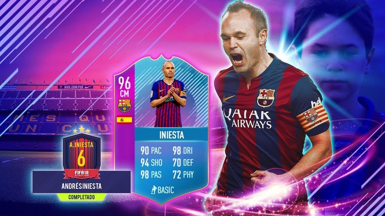 Iniesta SBC в FIFA 19