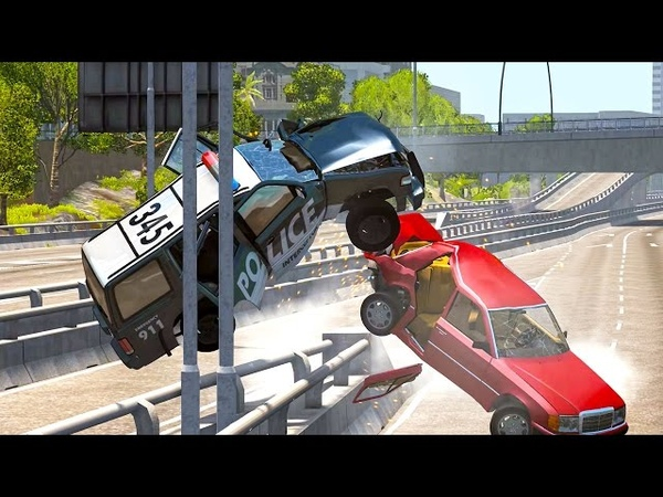 BeamNG Drive - Best of High Speed Crashes 5