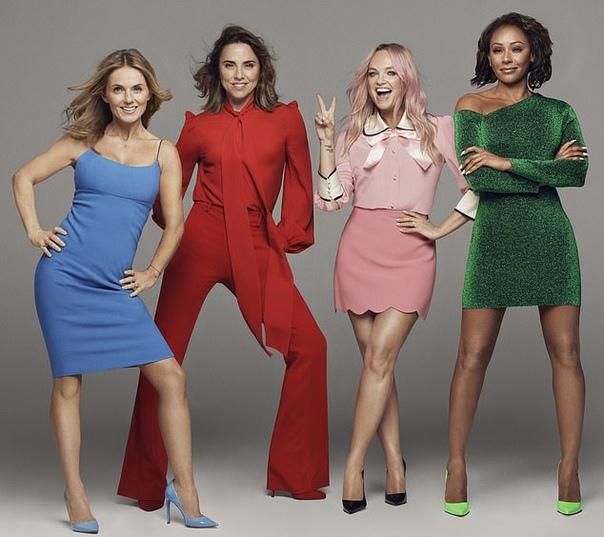 Теперь официально: Spice Girls объявили о начале гастрольного тура