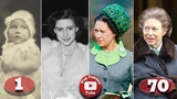 Princess Margaret Transformation From 0 To 71 Years Old