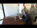 В. В. Путин стреляет из винтовки СВЧ-308