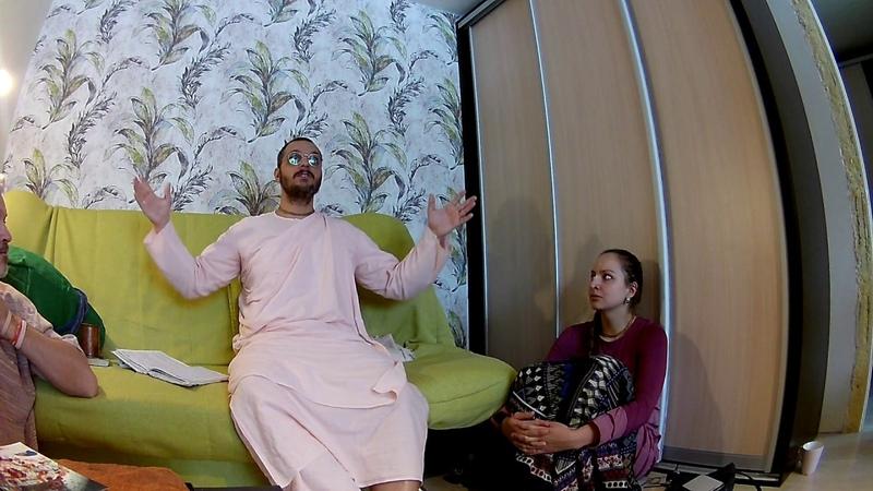 Шрипад Бхактиведанта Махавир Махарадж 08.03.19 Кришна-таттва