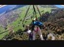 В Швейцарии мужчина впервые в жизни решил полетать на дельтаплане, но его просто-напросто забыли к нему пристегнуть за ремень бе
