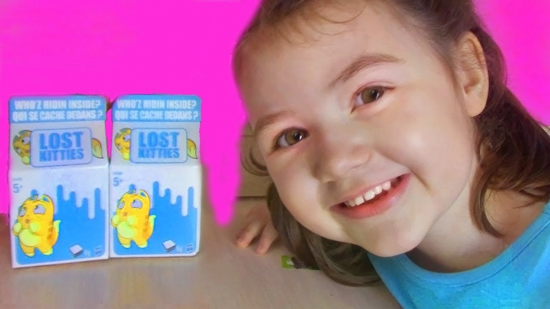 КОТЯТА В МОЛОКЕ от LPS! LOST KITTENS Surprise Packs with Play Dough распаковка и обзор сюрпризов