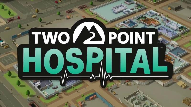 Строим психушку в игре Two Point Hospital