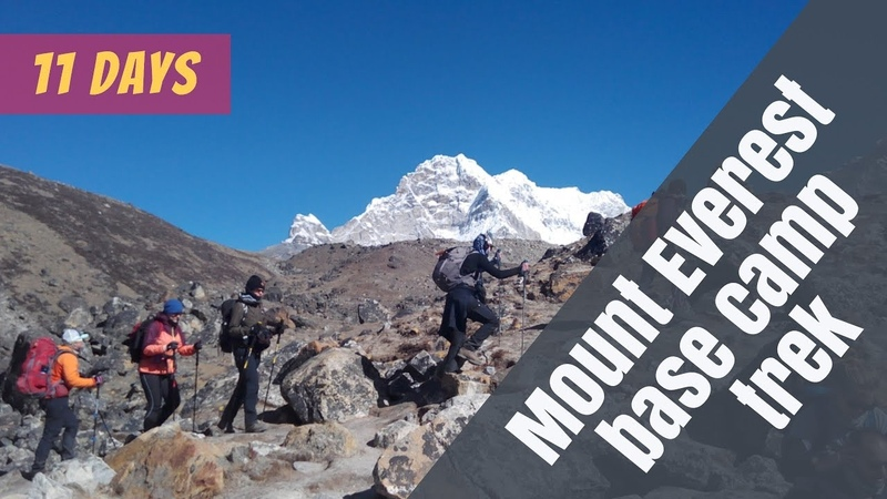 Travel Plan of rapid Everest base camp trek 11 days