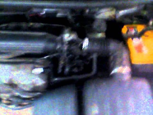 Daewoo Matiz Дэу матиз плавают обороты на горячем двигателе мигает лампа давления масла