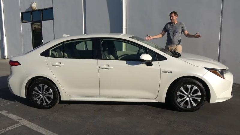Toyota Corolla 2020 года - это машина