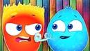 Оп и Боб - Добрый и Злой - Развивающий мультик для самых маленьких