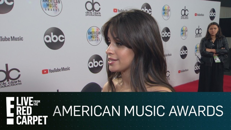 Camila Cabello Super Surprised By 4 AMAs Wins | E! Red Carpet Live Events