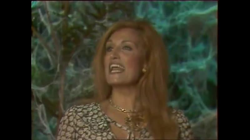 Dalida ♫ Femme est la nuit ♪ 4 janvier 1978 (Midi première (TF1)