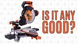 Independent Review - Evolution Rage 255 Sliding Mitre Saw - R255 SMS