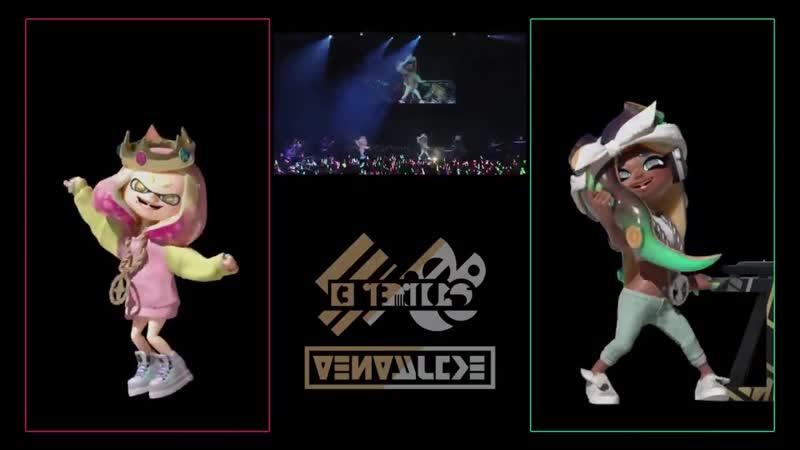 SPLATOON2 LIVE IN MAKUHARI テンタライブ の初回限定盤にはステージ上のヒメとイイダの動きやダンスに焦点を当てた特典映像も収録されているぞ この映像を