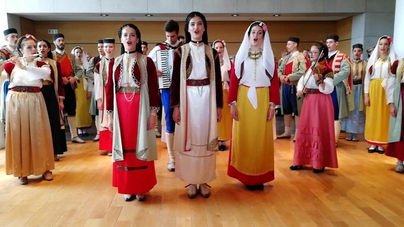 Фестиваль, Montenegro ансамбль Cma Gora