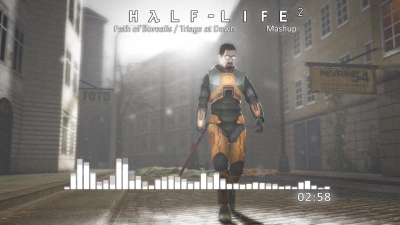 Half-Life 2 - Path of Borealis Triage at Dawn (Mashup)
